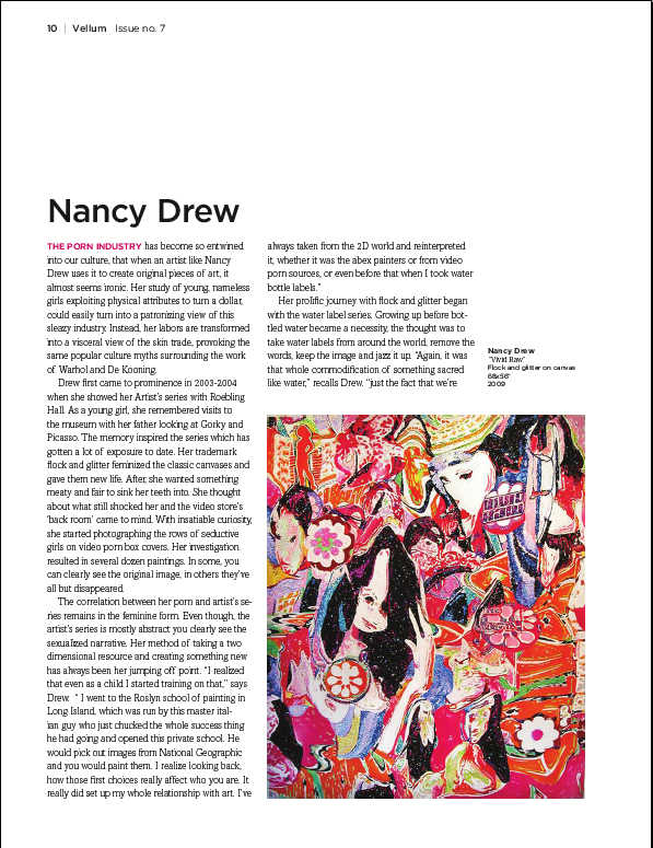 Vellum Mag Review of Freddys Nancy Drew Show